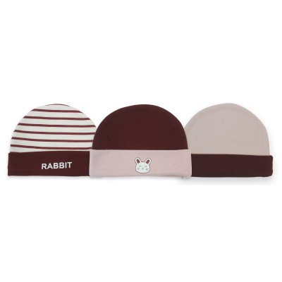 3 PK Knotted Hat