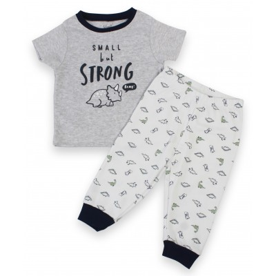 Infant Boy's Pyjama Set in Long Sleeves