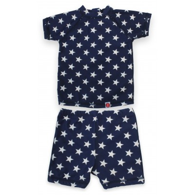 2 Pcs Set Boys Swim Suit