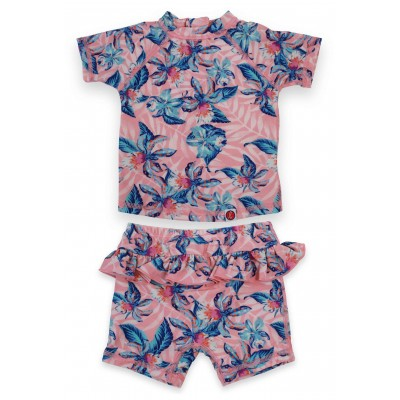 2 pcs Set Girls Swim Suit