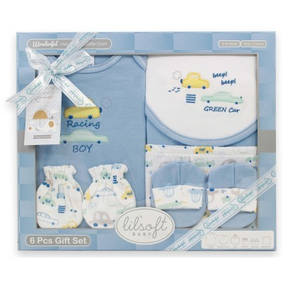 Wonderful Memories T Shirt Diaper Cover 6 Pieces Gift Set