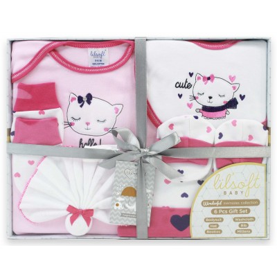 WONDERFUL MEMORIES 6 PCS BABY GIFT SET