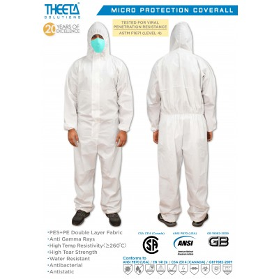 Theeta Solutions Micro Protection Coverall