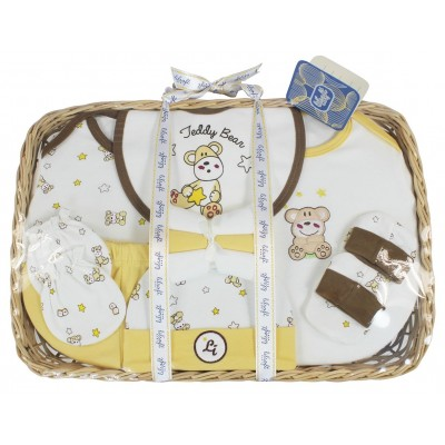 Baby Gift Basket 11 Pieces Essentials
