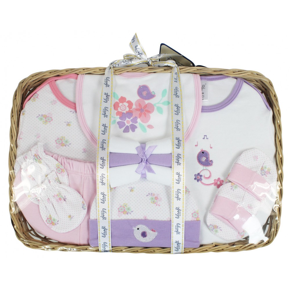 Baby Gift Set 11 Pieces : Baby gift basket pieces essentials for sets