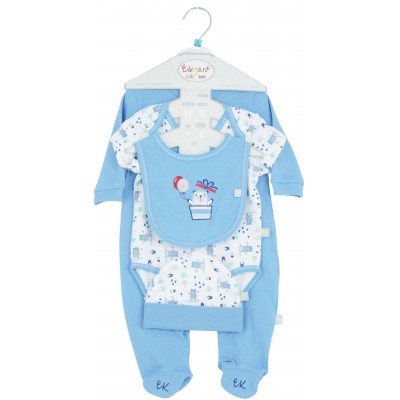 Elegant Kids Sleepsuit 5 Pieces Starter Set