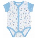 Baby Bodysuit with full front snaps